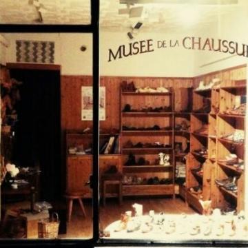 Image de visite du tout petit Musée de la Chaussure