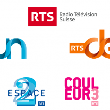 Image de visite des Studios RTS à Lausanne (radio suisse romande)