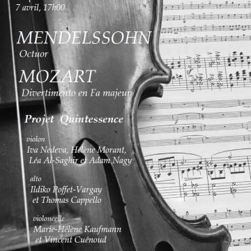 Image de Concert Mendelssohn et Mozart