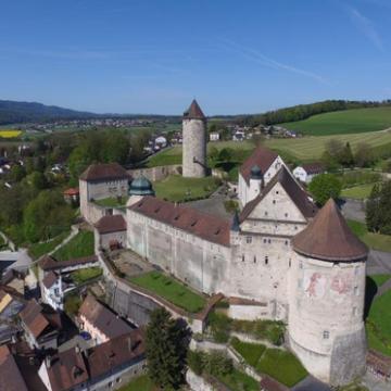 Image de visite guidée de Porrentruy et du château