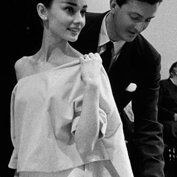 Image de Audrey Hepburn et Hubert de Givenchy