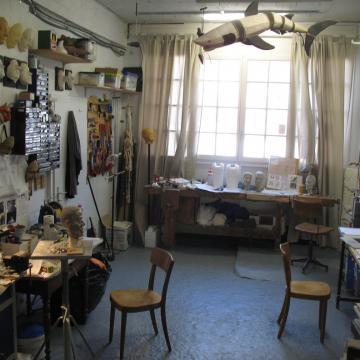 Image de Visite d'un atelier de sculpture de marionnettes
