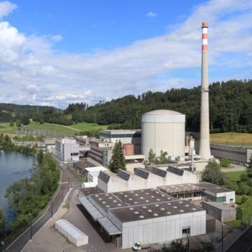 Image de visite commentée de la centrale nucléaire