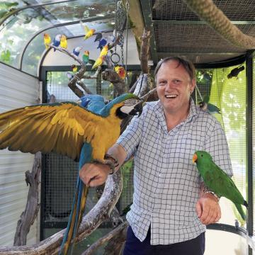 Image de Au paradis des oiseaux exotiques