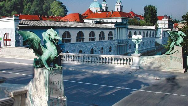 Image de Ljubljana, le cœur de l'Europe