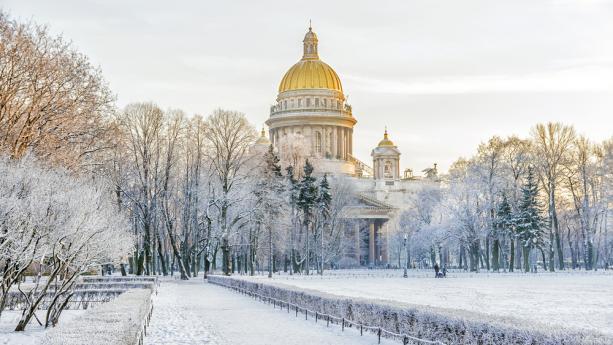 Image de Magie hivernale à Saint-Pétersbourg
